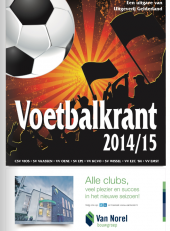 Voetbalkrant 2014-15 - cover