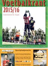Voetbalkrant 2015-2016